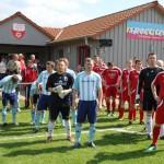 Relegation Holzhausen Einlauf