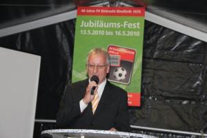 40. jähriges Vereinsjubiläum / Freitag